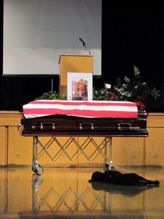 dog casket