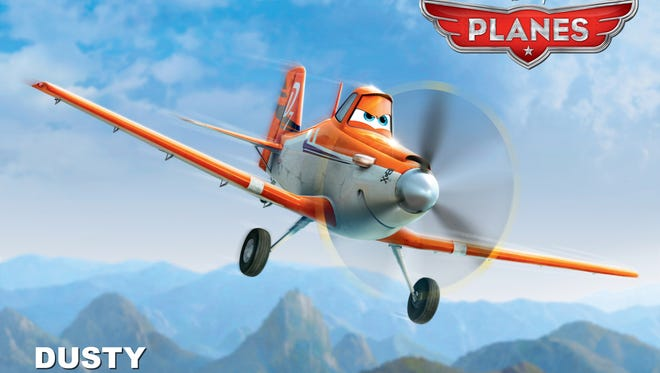 Dane Cook voices Dusty, the protagonist of 'Planes,' a spinoff of Pixar's 'Cars' by DisneyToon Studios.