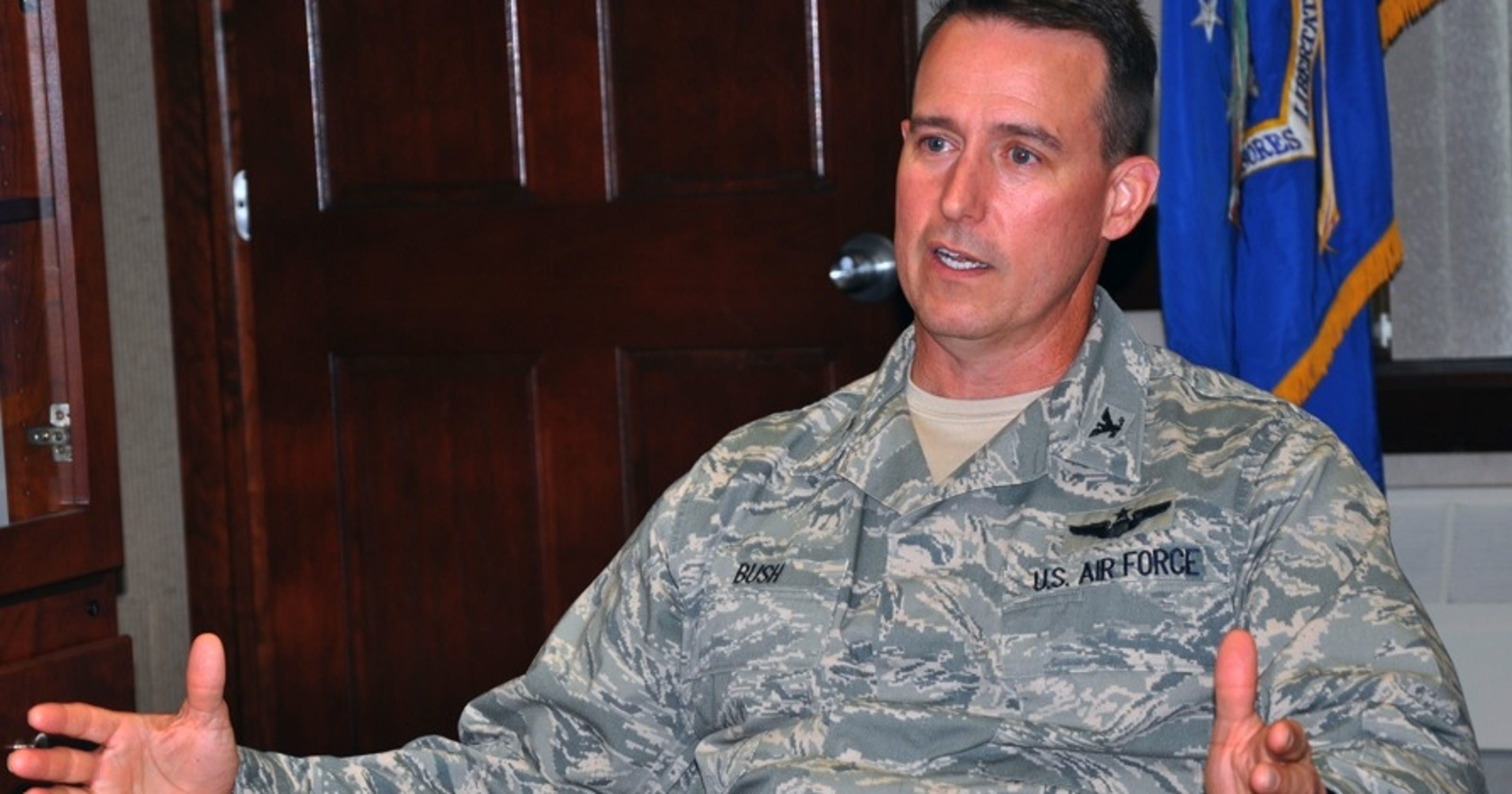 Colonel relieved of command for failing fitness test