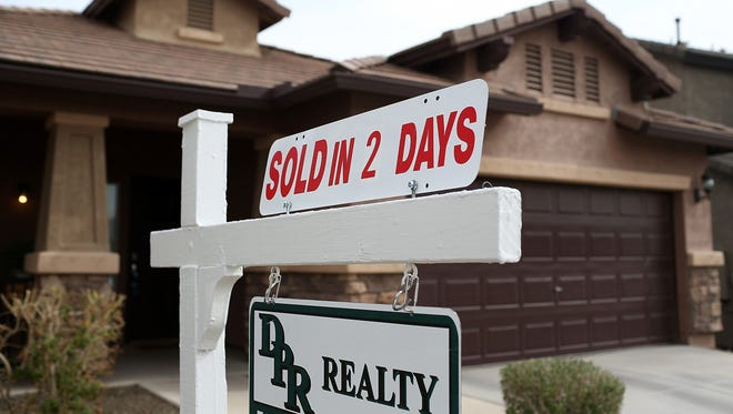 Home prices in Phoenix were up 19% in the past year.
