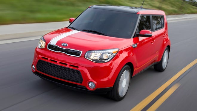 The freshened 2014 Kia Soul gets a new front end, but remains easily recognized.