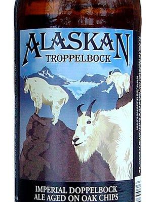 Alaskan Troppelbock beer from Alaskan Brewing Co. in Juneau, Alaska is 10.5 percent ABV.