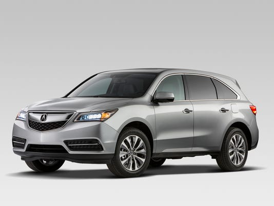 Access To Third Row 2017 Acura Mdx