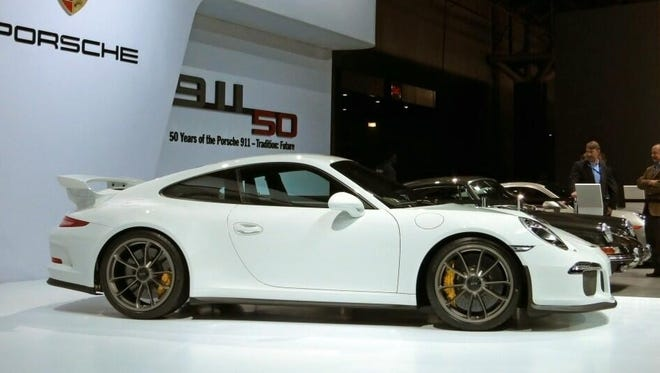 The 2014 Porsche 911 GT3 goes on sale in November.