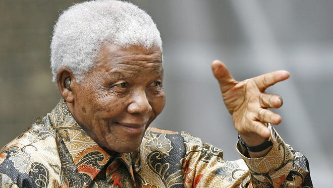 Former South African President Nelson Mandela has been hospitalized with a recurrent lung infection.