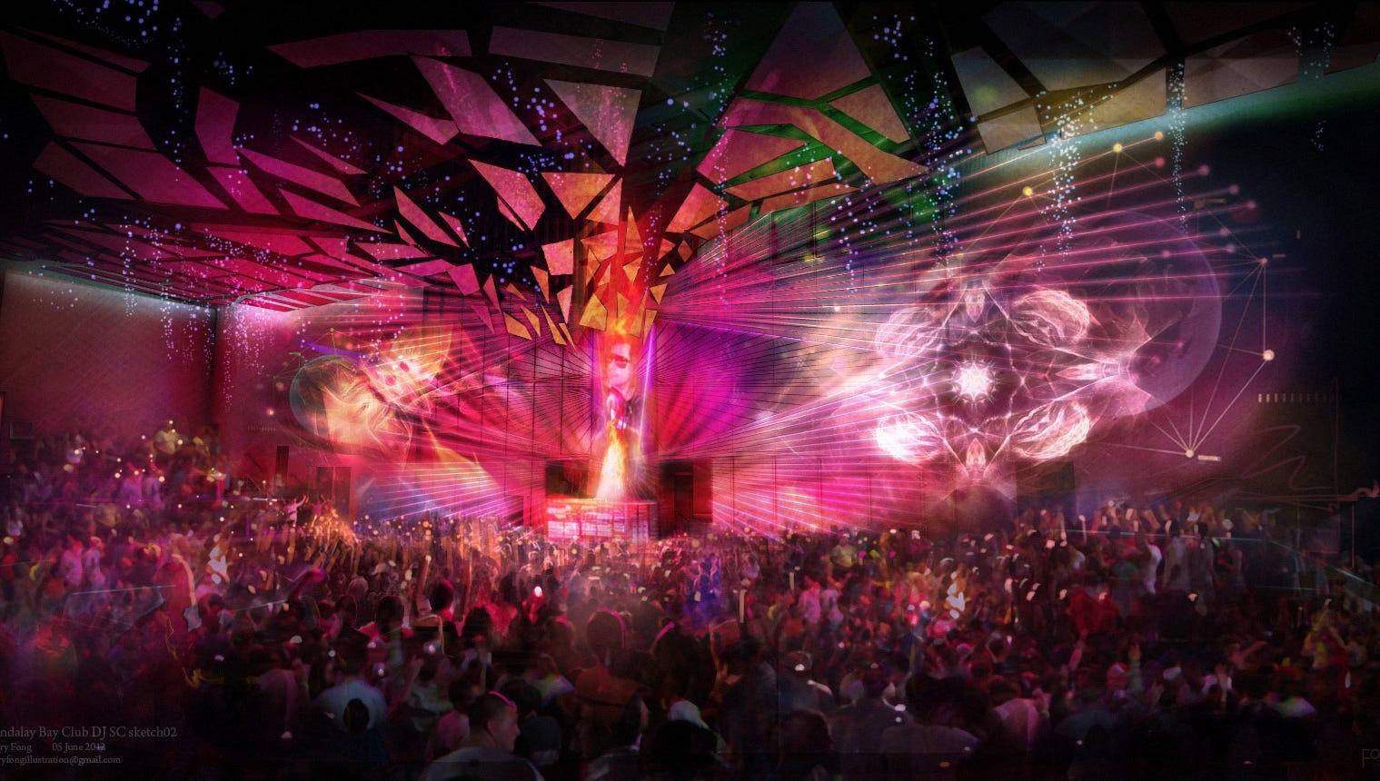Experience las vegas usa today travel - Licht nightclub ...