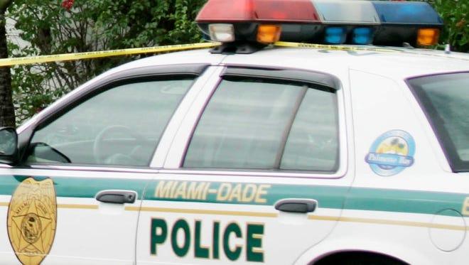 A Miami-Dade County Police cruiser.