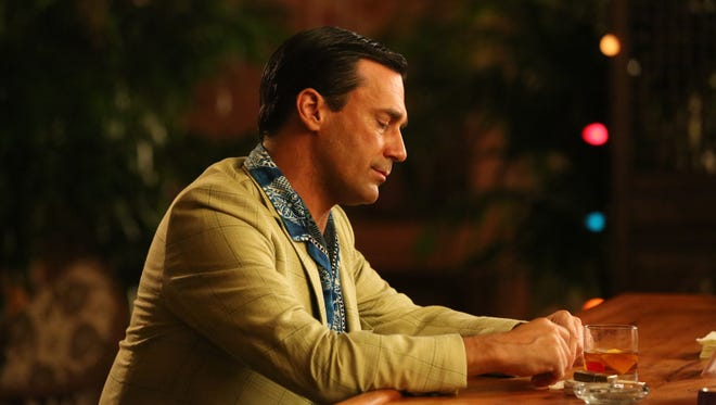 Is Don Draper (Jon Hamm) about to slide back into his bad habits?