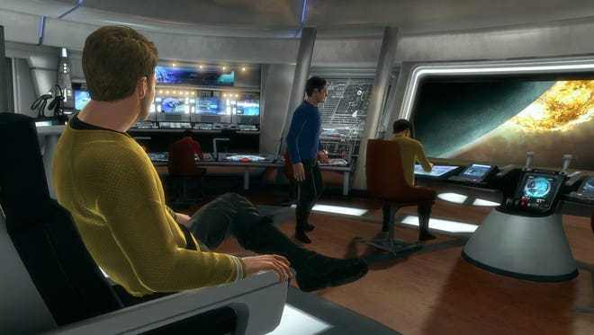A new 'Star Trek' video game is out later this month, and the first to feature co-op play for two players.