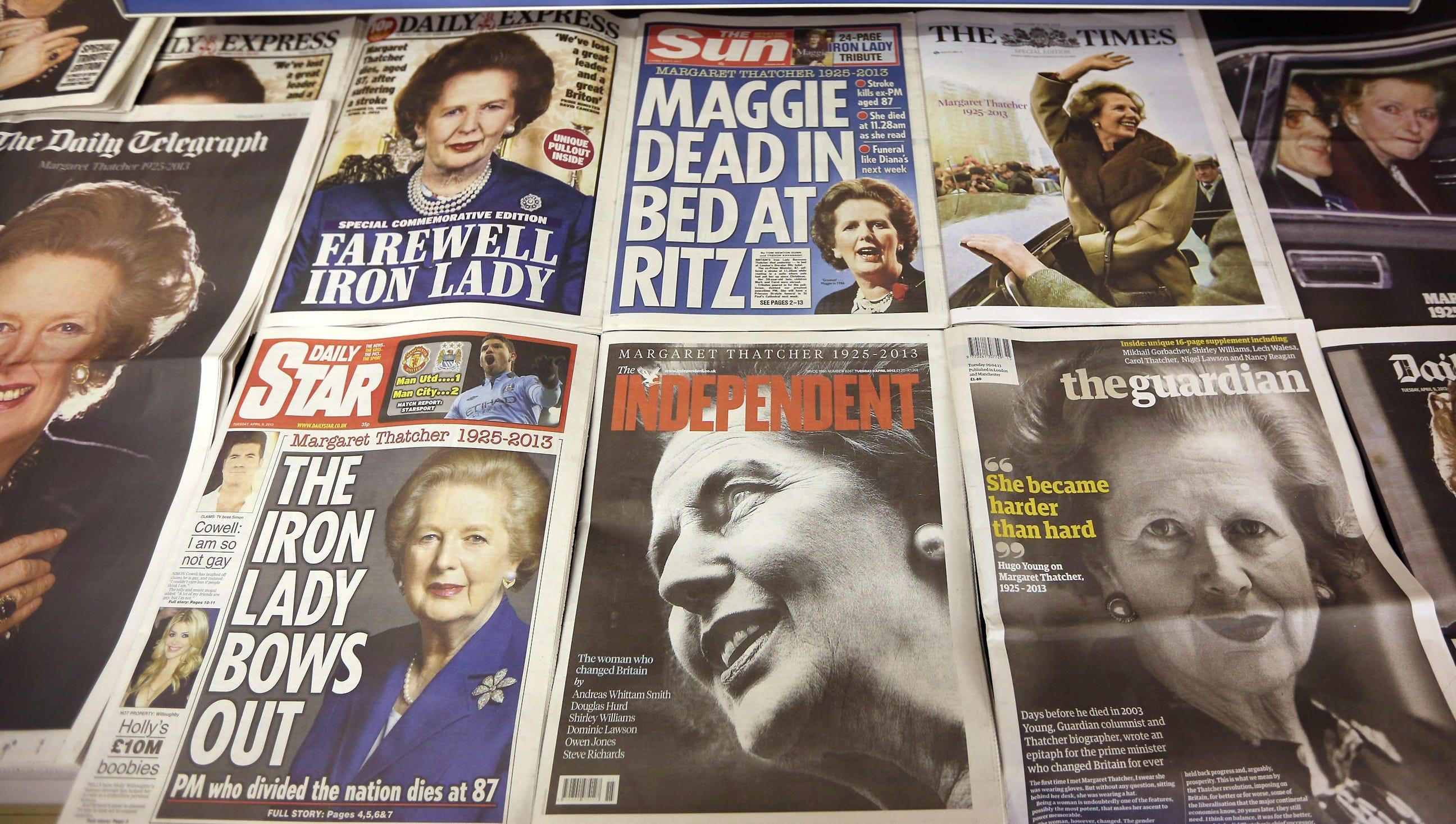 Margaret Thatcher Funeral Set For Next Week