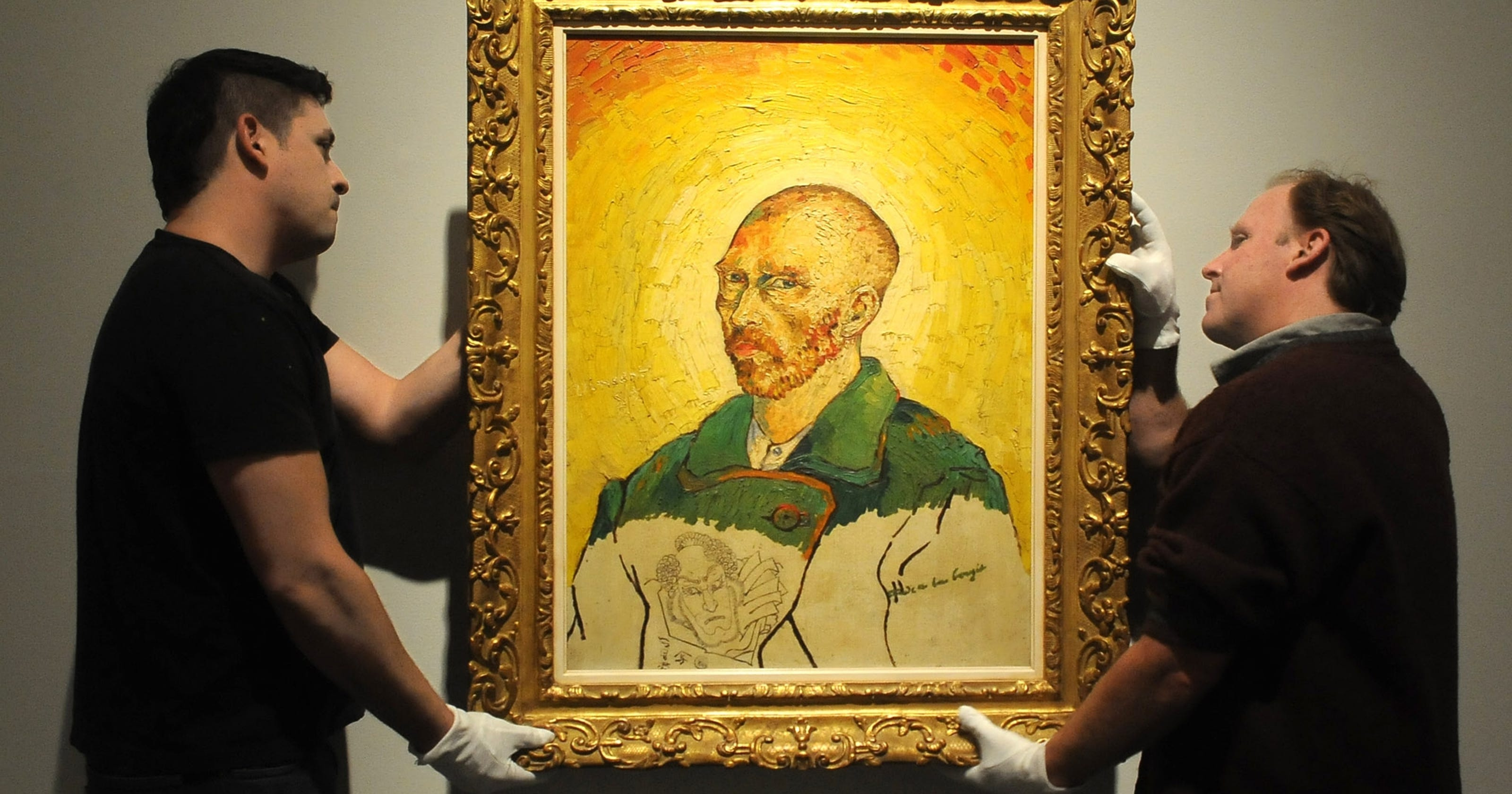 Museum unveils disputed painting not seen in decades
