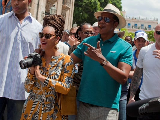Jay-Z, Beyonce Cuba