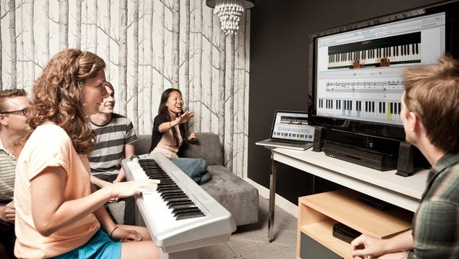 Piano-playing tutorial software was created by the innovations arm of the ad agency BBH.