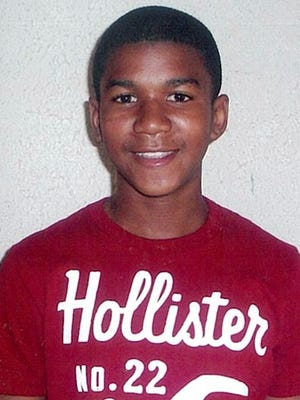 This undated file family photo shows Trayvon Martin, a Florida teen who was shot and killed by neighborhood watch volunteer George Zimmerman in February 2012.