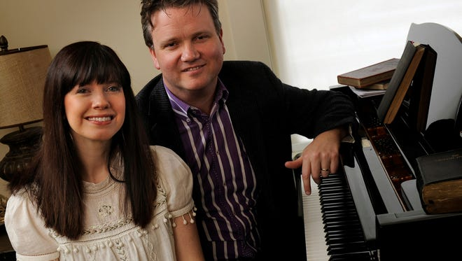 """Kristyn and Keith Getty of Nashville, Tenn., who are originally from Ireland, specialize in writing modern hymns for churches. One of Keith's songs, """"In Christ Alone"""" has one of the most popular songs sung in churches since 2008."""