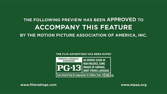 A new film ratings PSA has been released by the MPAA to help educate viewers on the different ratings categories.