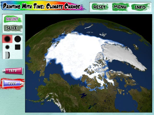 Painting with Time Climate Change