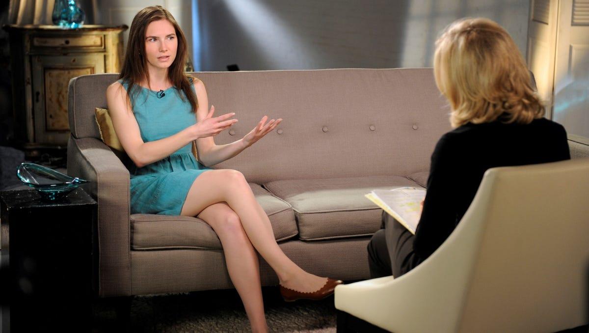 Amanda knox is hot legs images 699