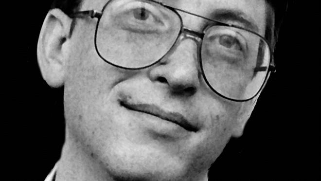 Bill Gates in the early days -- and on the cover of the Kindle version of his biography.