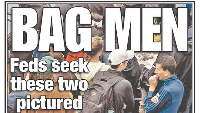 This New York Post cover, Thursday, shows Salah Eddin Barhoum, 17, and his friend Yassine Zaime. The Post reported later Thursday that the men weren't considered suspects.