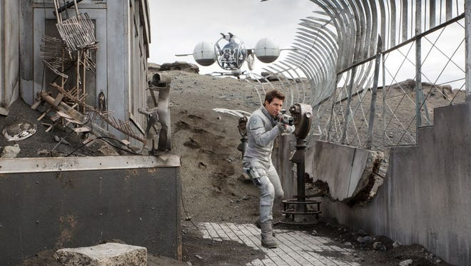 'Oblivion,' starring Tom Cruise, dazzles with style but falls short on substance.