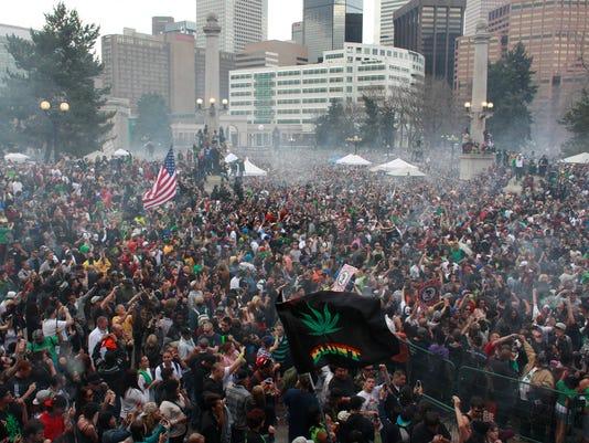 Denver 4/20 rally