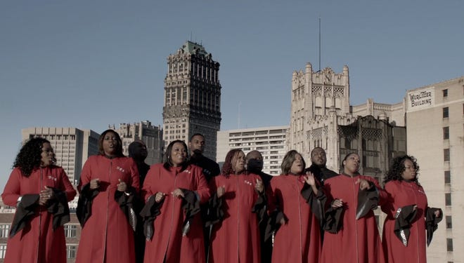 """The Selected of God choir appears in a video advertisement in the second installment of Chrysler's """"Imported from Detroit"""" campaign."""
