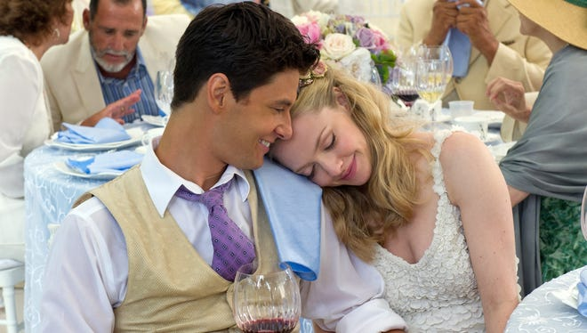 Alejandro (Ben Barnes) and Missy (Amanda Seyfried) are the bride and groom at the center of 'The Big Wedding.'