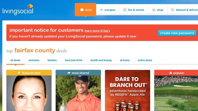 LivingSocial must get 50 million account holders to change their passwords.