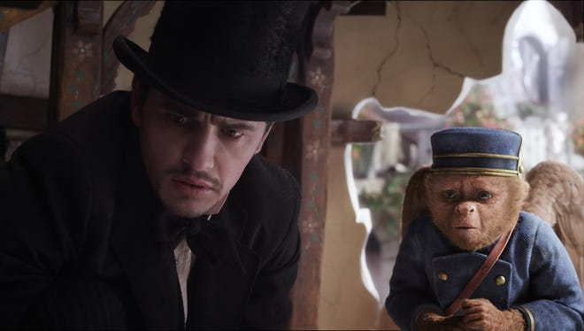 James Franco plays Oscar Diggs in 'Oz the Great and Powerful.'