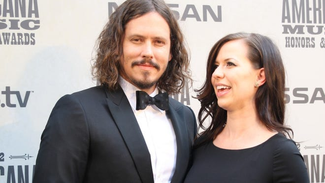 The Civil Wars attend the 2012 Americana Music Awards.