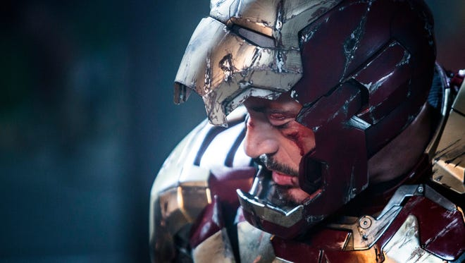 Robert Downey Jr. suits up once again 'Iron Man 3.'