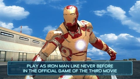 The new 'Iron Man 3' game takes place after the events of the new Iron Man 3 flick.