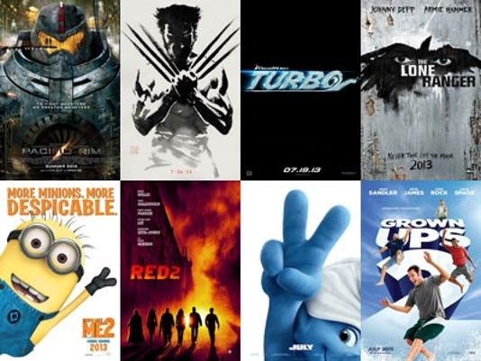 July Movies Posters
