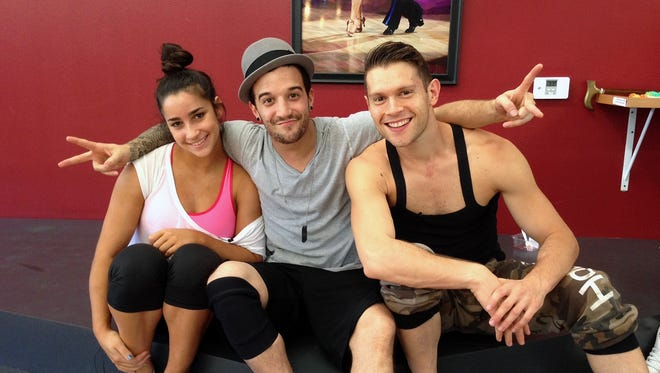 Monday's trio dance will reunite Team RaisinBall with Henry Byalikov, who helped Aly rehearse while Mark was recuperating from a back injury last week.