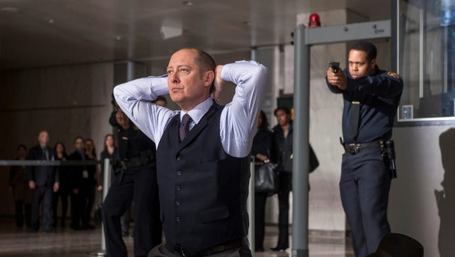 James Spader (with less hair) stars in new NBC drama 'The Blacklist'