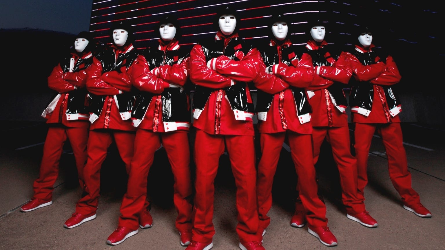 Jabbawockeez Mask Red Images & Pictures - Becuo