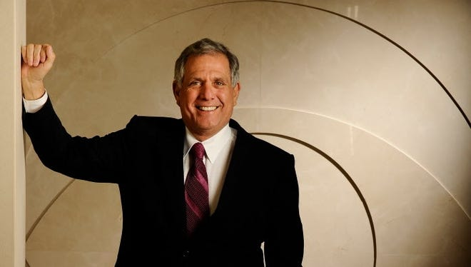 Leslie Moonves is the CEO at CBS, the #1 rated television network. Moosves is the higest paid executive in America. Photo by Robert Hanashiro, USA TODAY