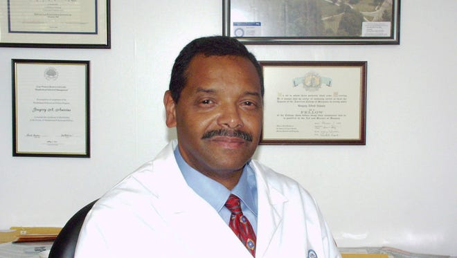 Dr. Gregory Antoine, a Jackson State University graduate, is chief of the Division of Plastic and Reconstructive Surgery at Boston Medical Center.