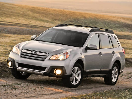 Subaru recalls Outback, Legacy for faulty steering