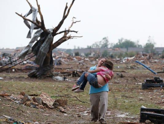 tornado monday