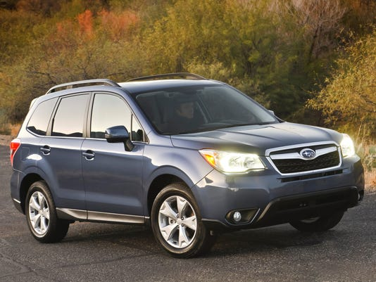 Subaru Forester is best small SUV, 'Consumer Reports' says