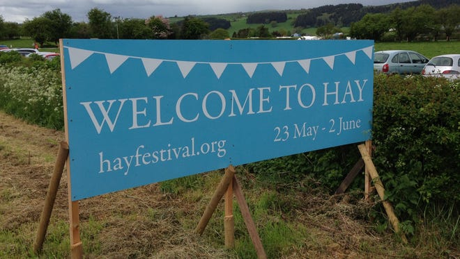 """The organizers of the Hay Festival say the event """"gathers people together to think about the world as it is and to imagine how it might be."""""""