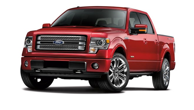 Government is investigating 2011 to 2013 Ford F-150 trucks with EcoBoose engine. A 2012 Lariat crew cab EcoBoost is pictured.