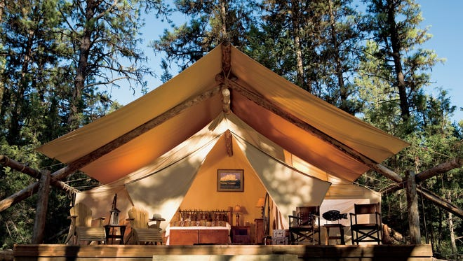 The Resort at Paws Up in Montana is considered one of the ritziest glamping spots in the United States. A one-night stay can reach as high as $2,000.