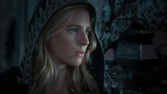 Brit Marling returns to the screen with 'The East,' a film she co-wrote with director Zal Batmanglij.
