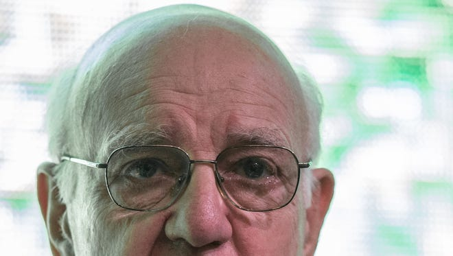 Former Federal Reserve Board Chairman Paul Volcker during an appearence at the Singapore Forum in March.