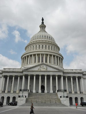 The U.S. Capitol building on April 17, 2013 in Washington, D.C.