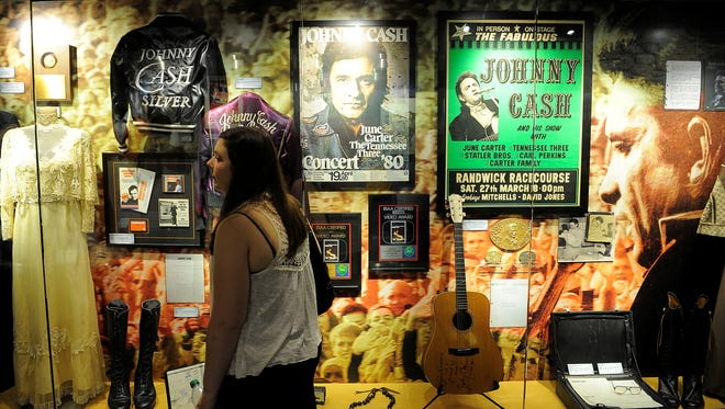 The Johnny Cash Museum celebrated its grand opening May 30, 2013, in Nashville, Tenn. Many never-before-seen historical documents, letters, awards, costumes and instruments take the visitor on a three dimensional journey through Johnny Cash'??s life.