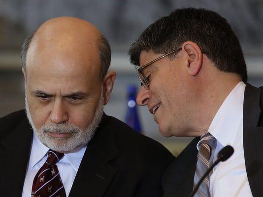 Ben Bernanke and Jack Lew